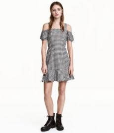 Off the shoulder dress at H&M