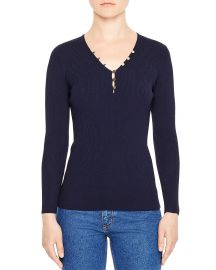 Olga V-Neck Sweater at Bloomingdales