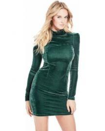 Olga Velvet dress at Guess