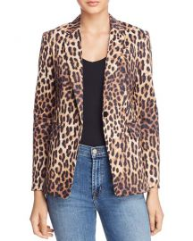 Olivaceous Leopard Print Blazer at Bloomingdales