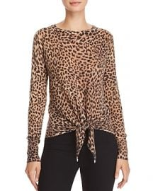 Olivaceous Leopard Print Sweater at Bloomingdales