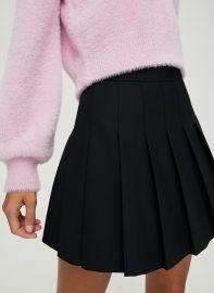 Olive Skirt at Aritzia