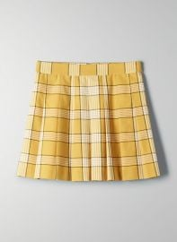 Olive Skirt by Sunday Best at Aritzia at Aritzia