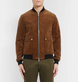 Oliver Spencer Bermondsey Cotton-corduroy Bomber Jacket at Mr Porter
