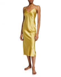 Olivia Von Halle Issa Honey Silk Nightgown at Neiman Marcus