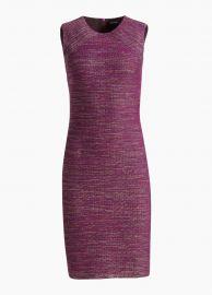 Ombre Ribbon Tweed Dress by St. John at St John