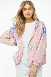 Ombre Windbreaker Jacket by Forever 21 at Forever 21