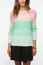 Ombre knit sweater at Urban Outfitters at Urban Outfitters