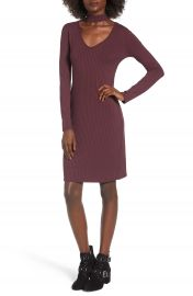 One Clothing Ribbed Choker Dress at Nordstrom