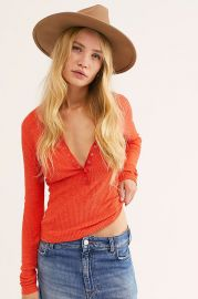 One Of The Girls Henley at Free People