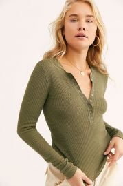 One Of The Girls Henley by Free People at Free People