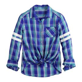 One-Pocket Button-Front Shirt by SO  at Kohls