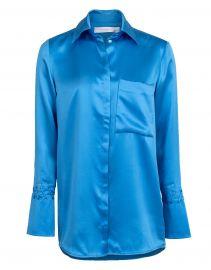 One Pocket Fluid Shirt by Victoria Beckham at Marissa Collections