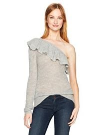One Shoulder Alpaca Pullover at Amazon