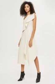 One Shoulder Dress at Topshop