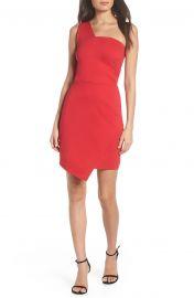 One Shoulder Jersey Dress at Nordstrom