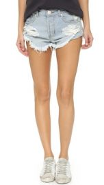 One Teaspoon The Beauty Bandits Shorts at Shopbop