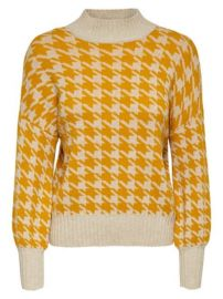 Only Houndstooth High Neck Sweater at Hudsons Bay