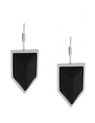 Onyx Chevron Earrings by Vince Camuto at Lord & Taylor