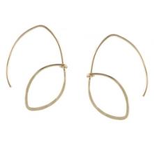 Open Petal Earrings at Peggy Li