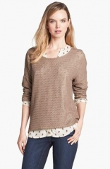 Open knit sweater by Vince Camuto at Nordstrom