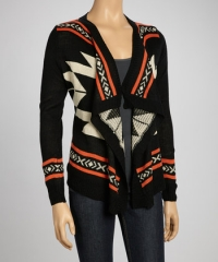Open tribal cardigan at Zulily