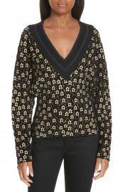 Opening Ceremony Floral Jacquard Sweater at Nordstrom