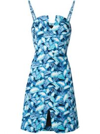 Opening Ceremony Leaf Print Fitted Dress - Wok-store at Farfetch