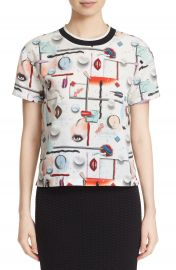 Opening Ceremony Print Short Sleeve Top at Nordstrom