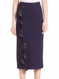 Opening Ceremony Ruffle Pencil Skirt at Saks Off 5th