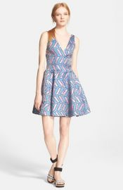 Opening Ceremony and39Poolsand39 Print Fit andamp Flare Dress at Nordstrom