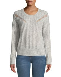 Opera Ribbed Pullover Sweater at Last Call