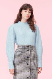 Optic Tweed Pullover at Rebecca Taylor