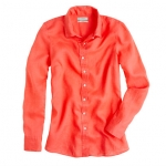 Orange shirt at J Crew at J. Crew