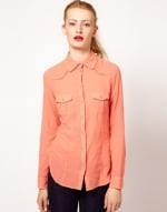 Orange shirt by Kookai at Asos