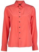 Orange shirt by Rag and Bone at Farfetch