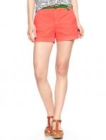 Orange shorts at Gap at Gap
