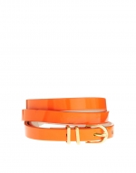 Orange skinny belt at Asos