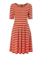 Orange striped dress by Therapy at House of Fraser