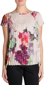 Orchid print top by Ted Baker at Ted Baker