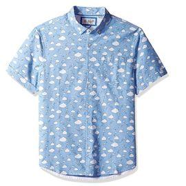 Original Penguin Short Sleeve Printed Button Down Shirt at Amazon