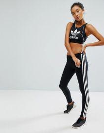 Originals Adicolor Leggings With 3 Stripe by Adidas  at ASOS