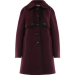 Orla Keily raglan coat on New Girl at Amazon
