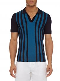Orlebar Brown - Horton Striped Polo Shirt at Saks Fifth Avenue