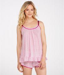 Oscar de la Renta Summer Nights Pajama Set at Bare Necessities