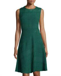 Oscar de la Renta Textured Dress at Last Call