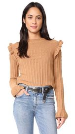 Otto d  039 ame Maglia Ruffle Sweater at Shopbop