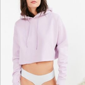 Out From Under Cropped Hoodie Sweatshirt at Urban Outfitters
