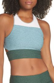 Outdoor Voices Tri-Tone Slashback Crop Top   Nordstrom at Nordstrom