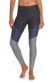Outdoor Voices 7/8 Springs Leggings in Charcoal / Navy / Graphite at Nordstrom